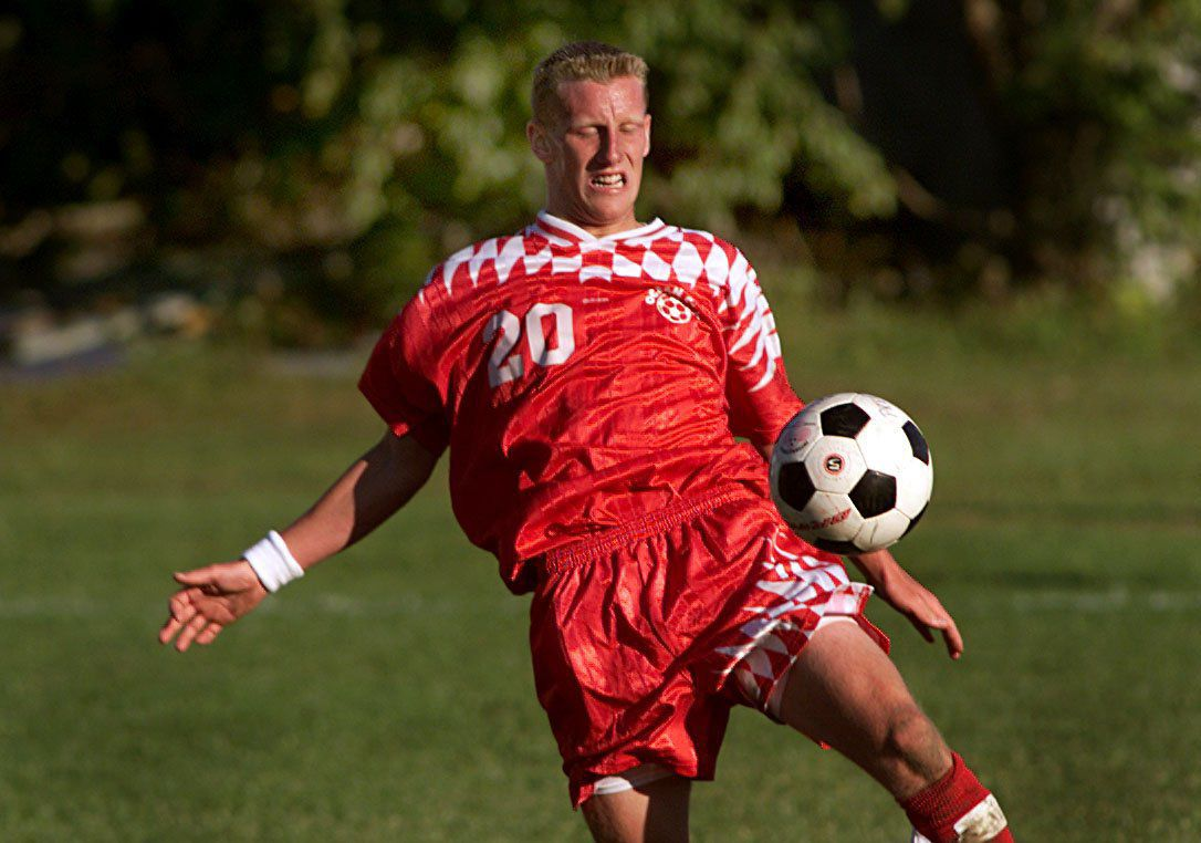 Chad Severs, soccer, 2001