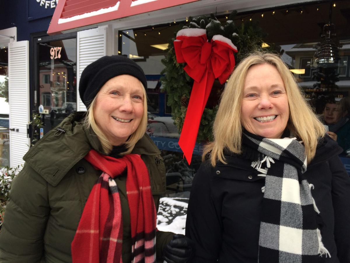 Ocean City shoppers in severe cold