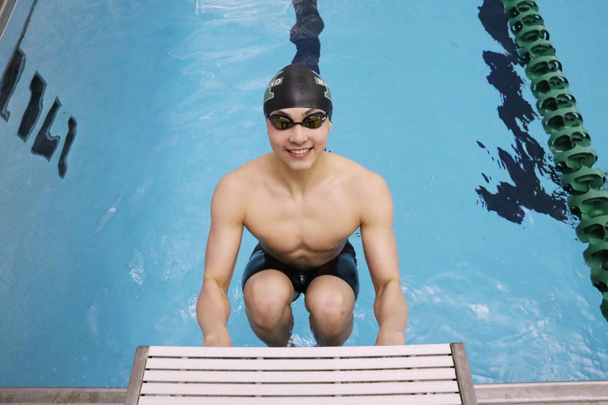 Mainland Regional's Destin Lasco, 2018 Press Boys Swimmer of the Year