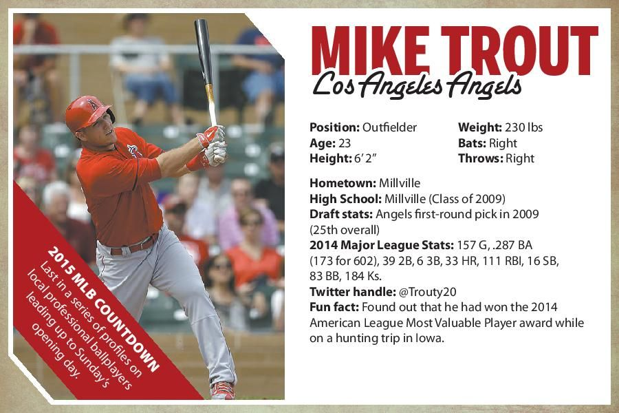 Daily Mike Trout Update Steals First Base Of Season In