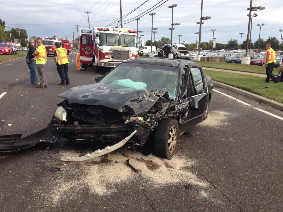 Car crash in Egg Harbor Township