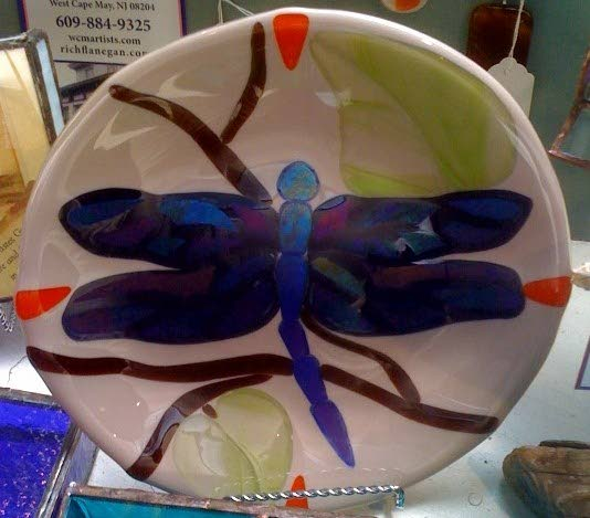 Fused glass featured at Cape May gallery