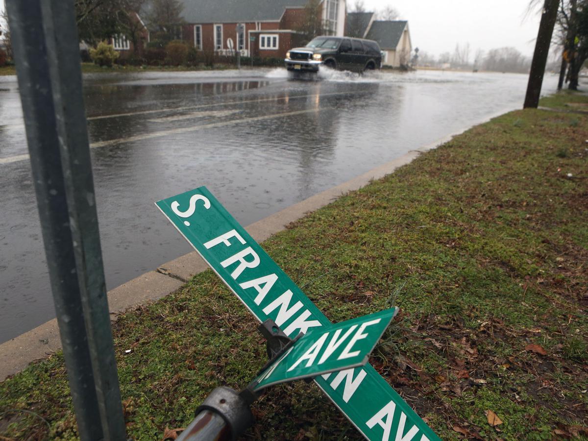Rain and wind storm hits Atlantic County