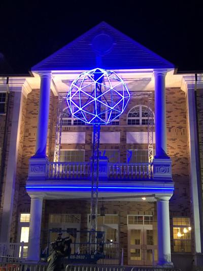 Blueberry drop for New Year in Hammonton