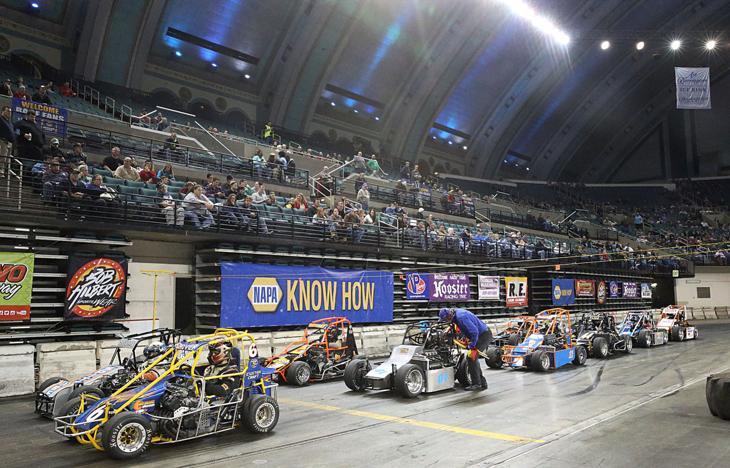 Midget Car Races 110