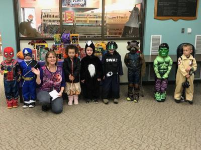 Halloween at EHT library