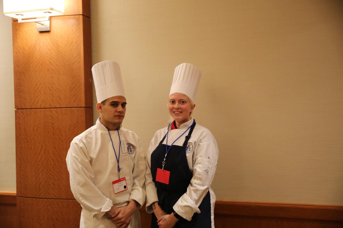 Darian Howland and Morgan Suydam at Savor Borgata