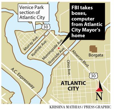 FBI raids Atlantic City mayor's home map