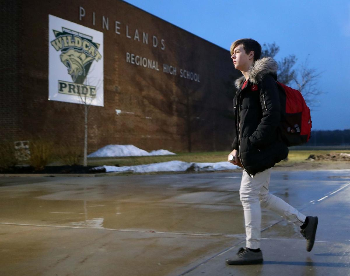 Students return back to Pinelands Regional High School