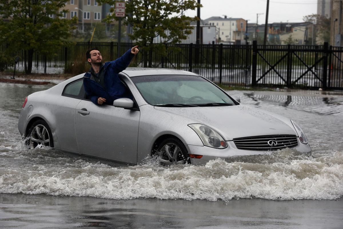 Rain storm cause flooding