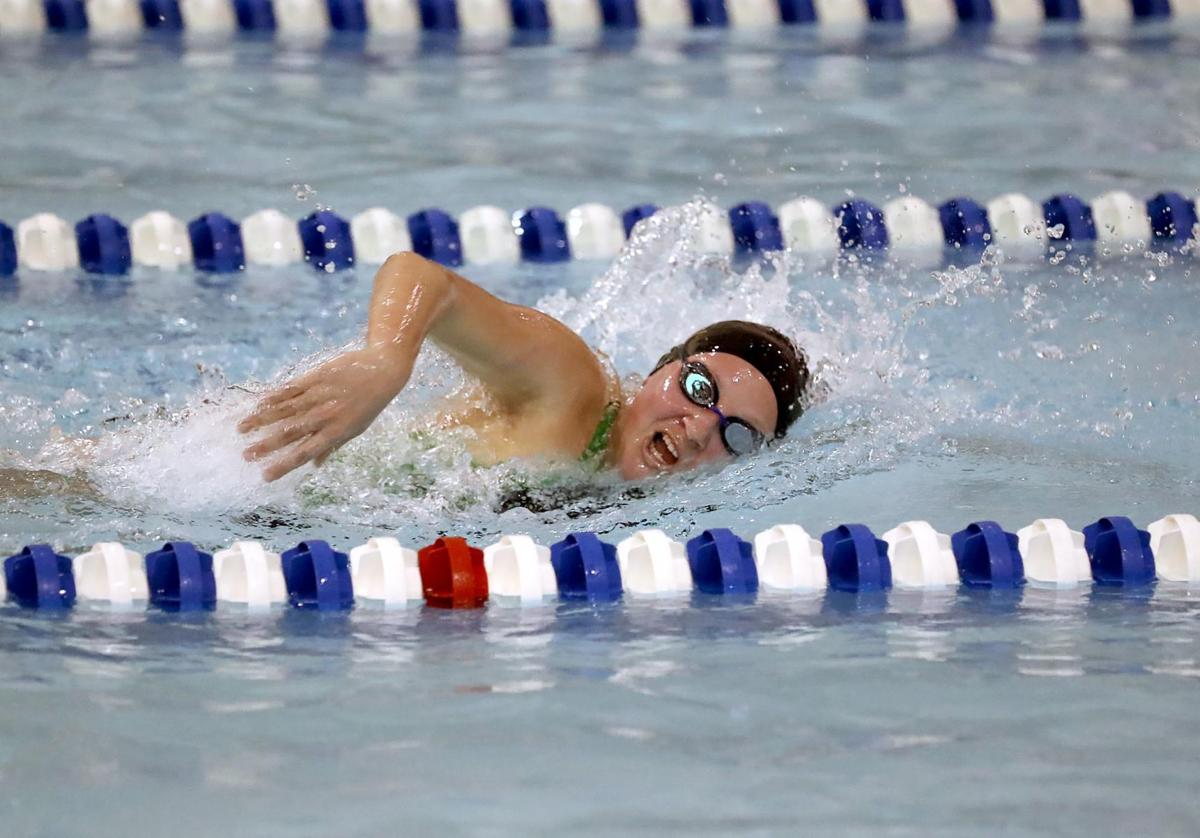 Cape May Tech vs. Cedar Creek swimming State Tournament