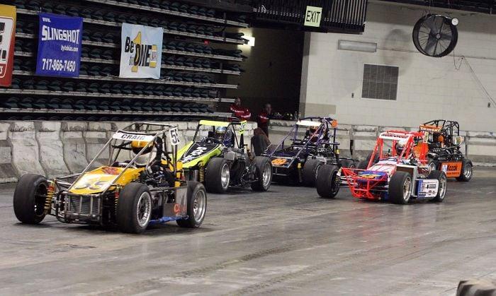 A.C. Indoor Races practice