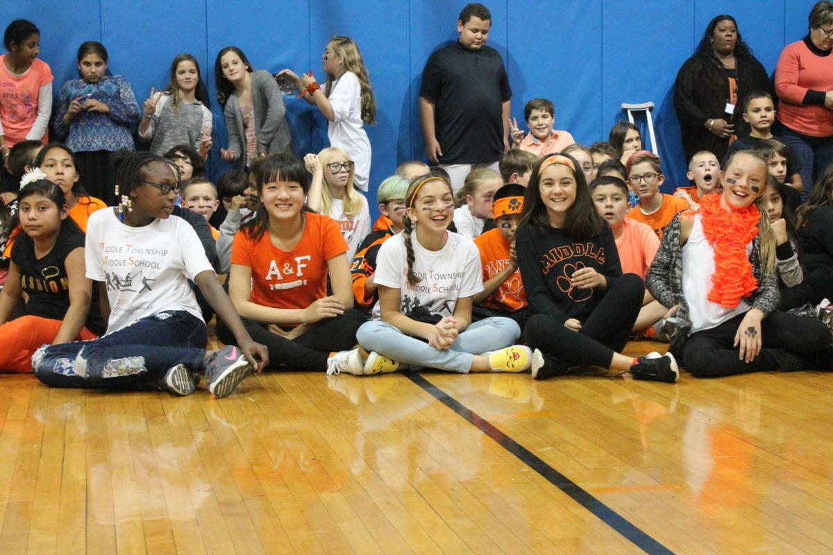 fc637ea043 Middle Township Middle School Pep Rally - 2016