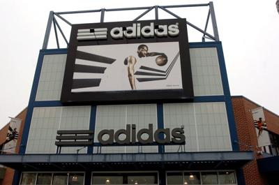 info for 9311f b558f adidas store sign. The Adidas store in Atlantic City ...
