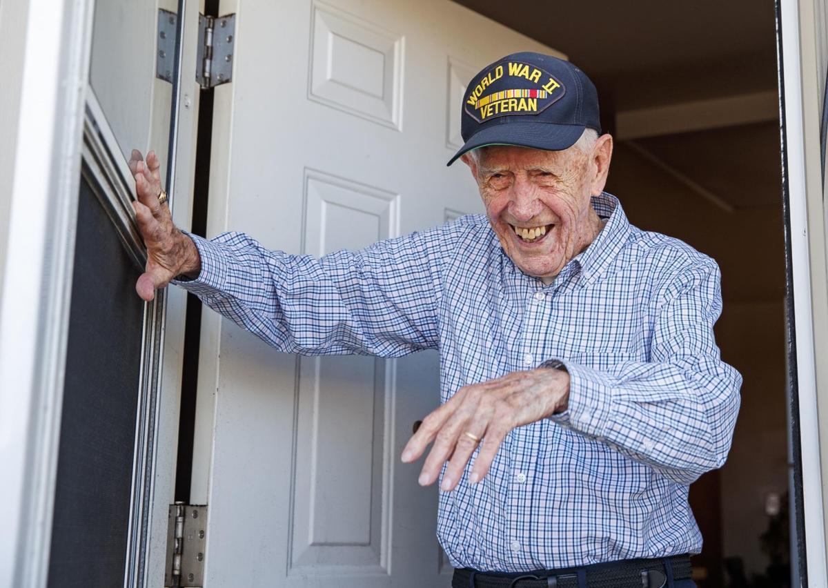 Veteran Francis McCormac
