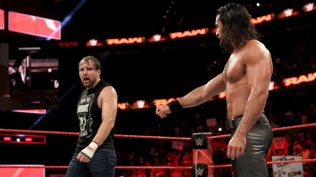 Rollins ambrose not ready to rebuild the shield write russo write wwe seth rollins dean ambrose m4hsunfo