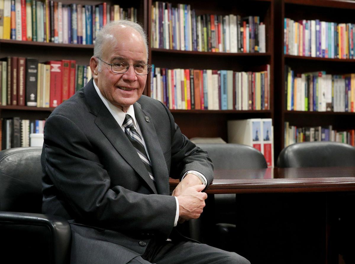 Stockton University President Harvey Kesselman