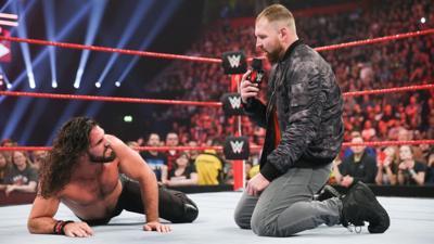 WWE Rollins Ambrose
