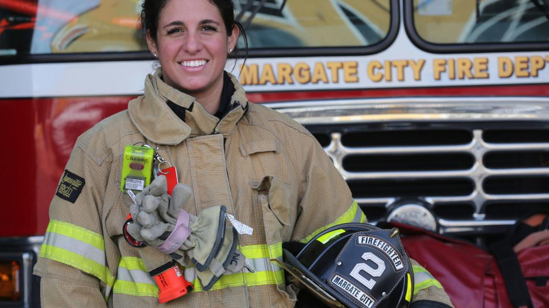 Margate Fire Department sees third woman join force