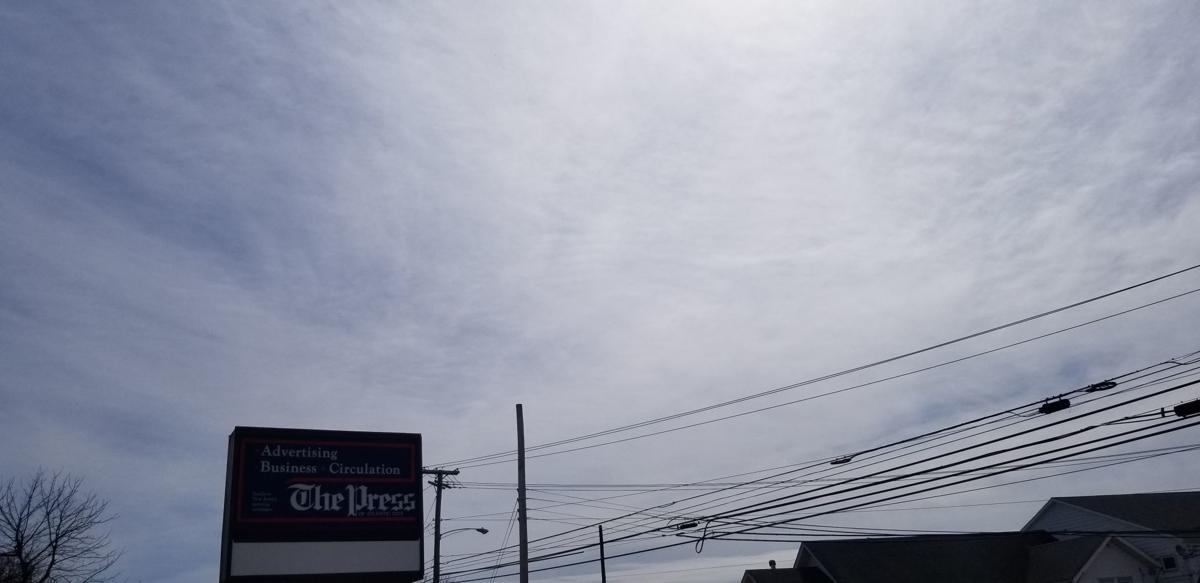 Filtered Sunshine Press of Atlantic City Building