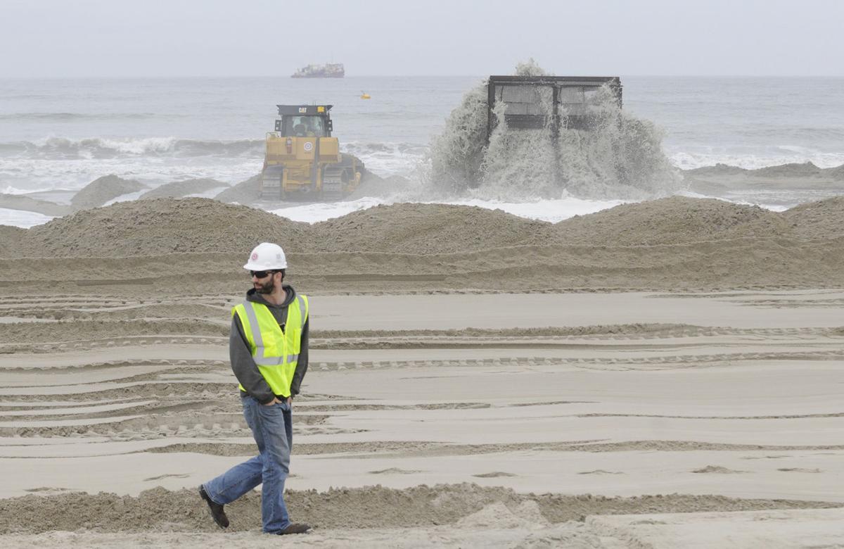 BEACH REPLENISHMENT-DUNES