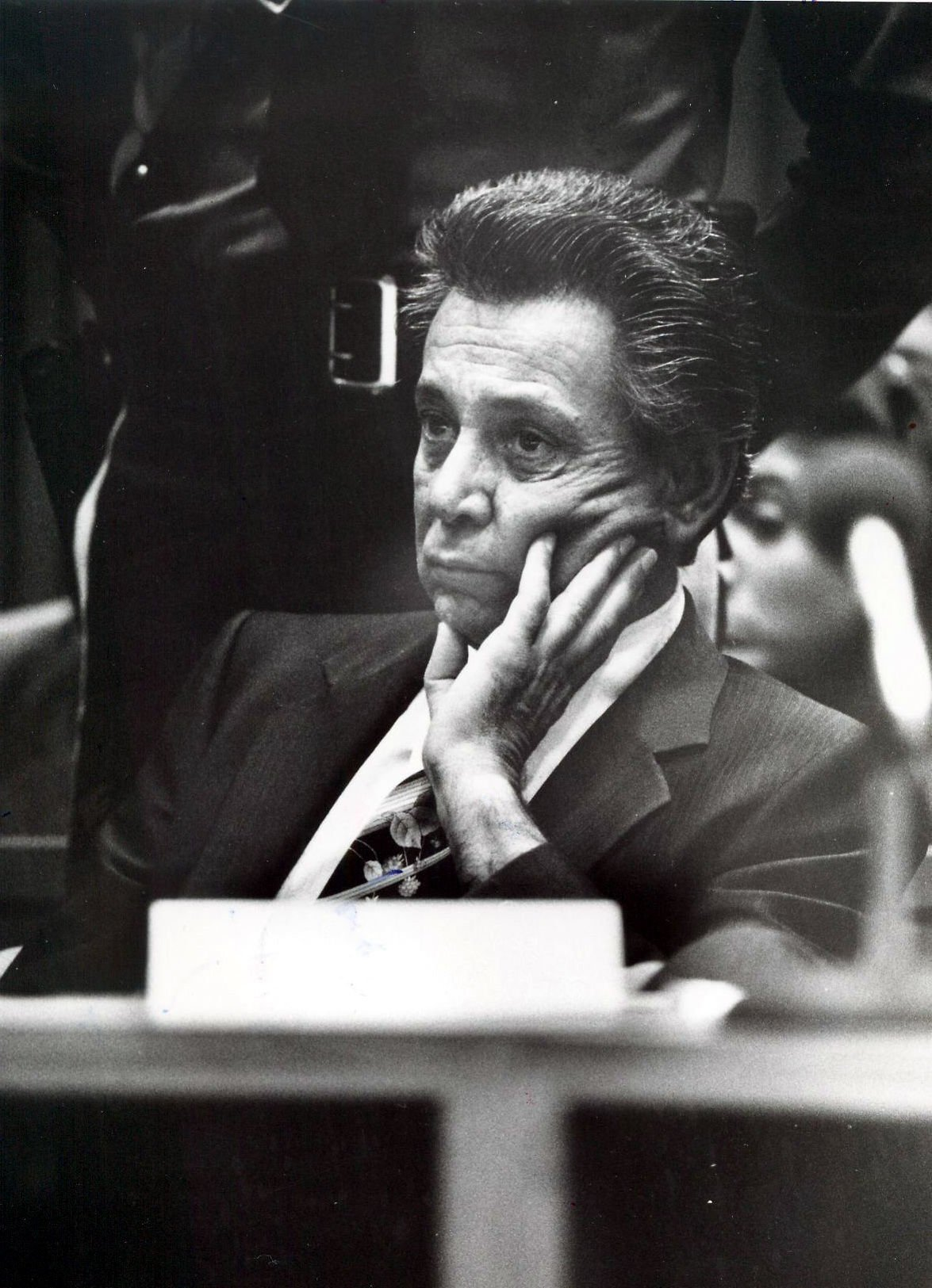 "Nicodemo ""Little Nicky"" Scarfo in court 1986"
