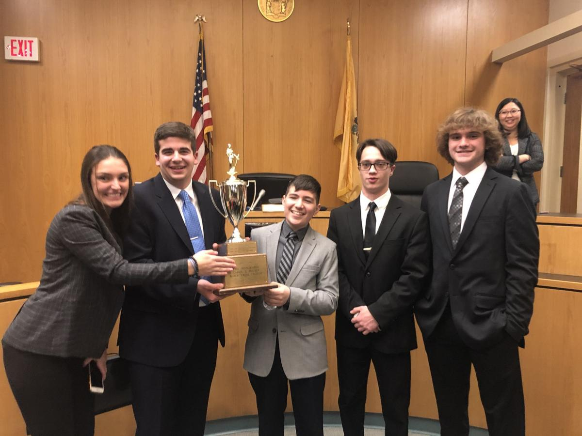 Egg Harbor Township High School wins the Atlantic County Mock Trial competition Tuesday, Jan. 28 at the Atlantic County Civil Courthouse in Atlantic City.
