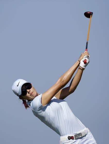 High winds mean higher scores at ShopRite LPGA Classic