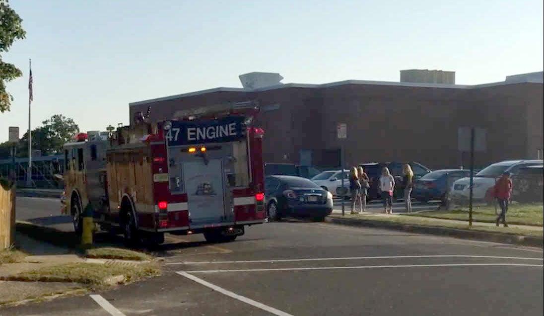Jordan Road School evacuation