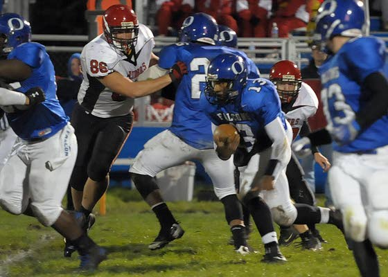 Oakcrest starts quickly and runs away from O.C.