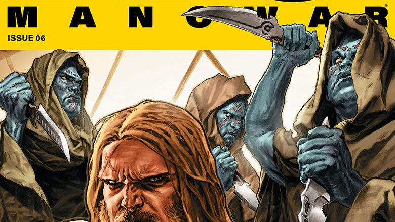 Preview art of Valiant's 'X-O Manowar' #6, out Wednesday