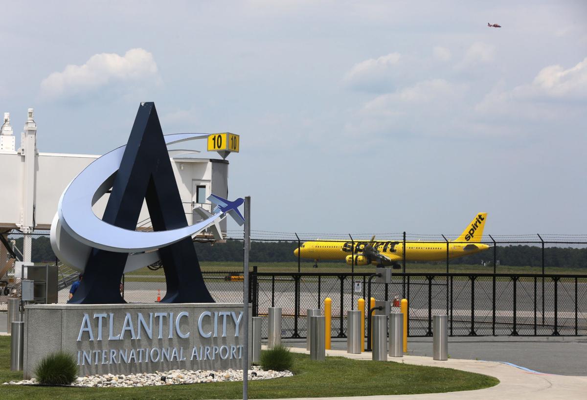 Flights leave Atlantic City Airport file art