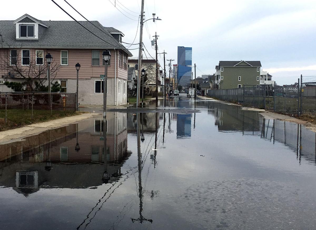 Minor Coastal Flooding Atlantic City