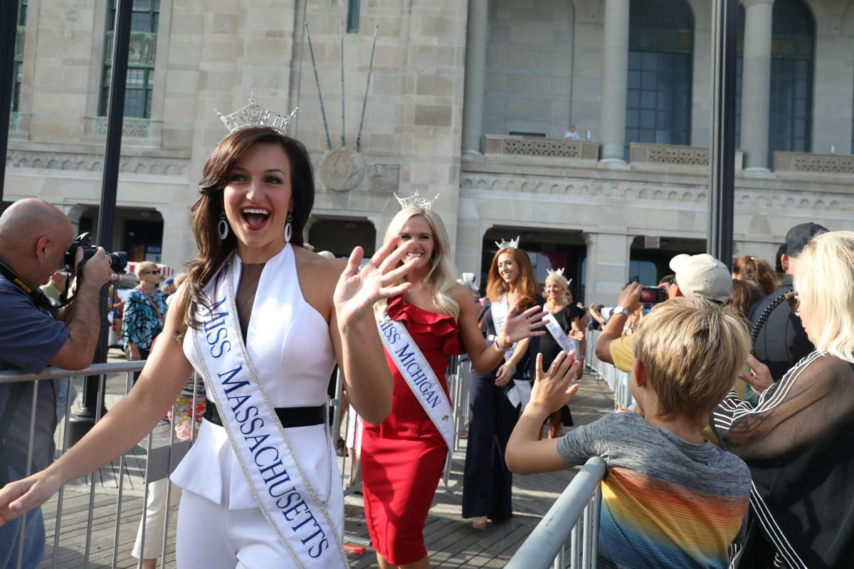Miss America arrival