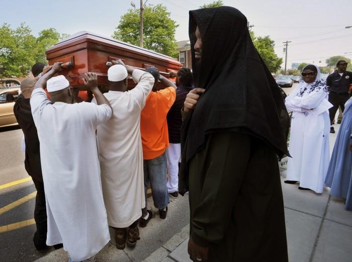 Abiah Jones funeral
