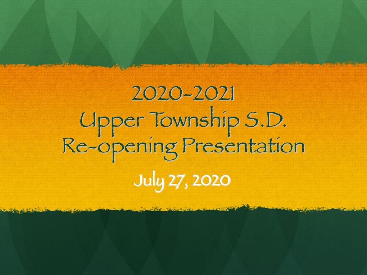 Upper Township reopening plan