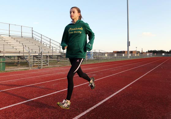 High School Girls Cross Country Runner of the Year: Zodl finds place near front of pack