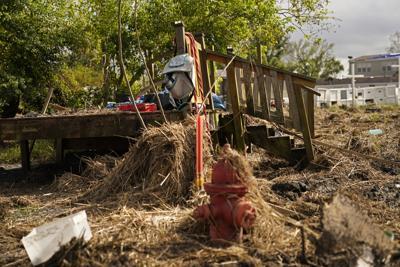 Hurricane Ida devastation lingers in Louisiana 1 month later