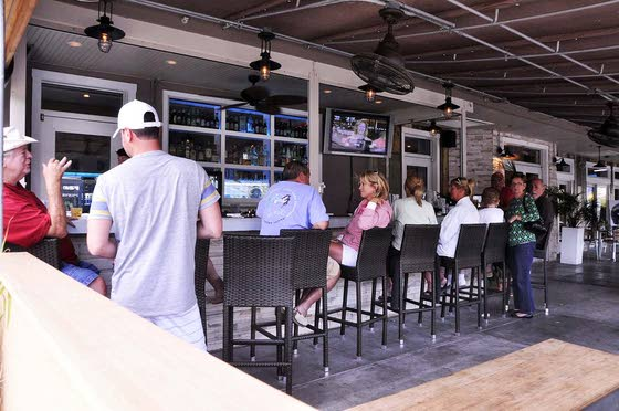 Turn Sunday night football into an event at North End American Grill in North Wildwood