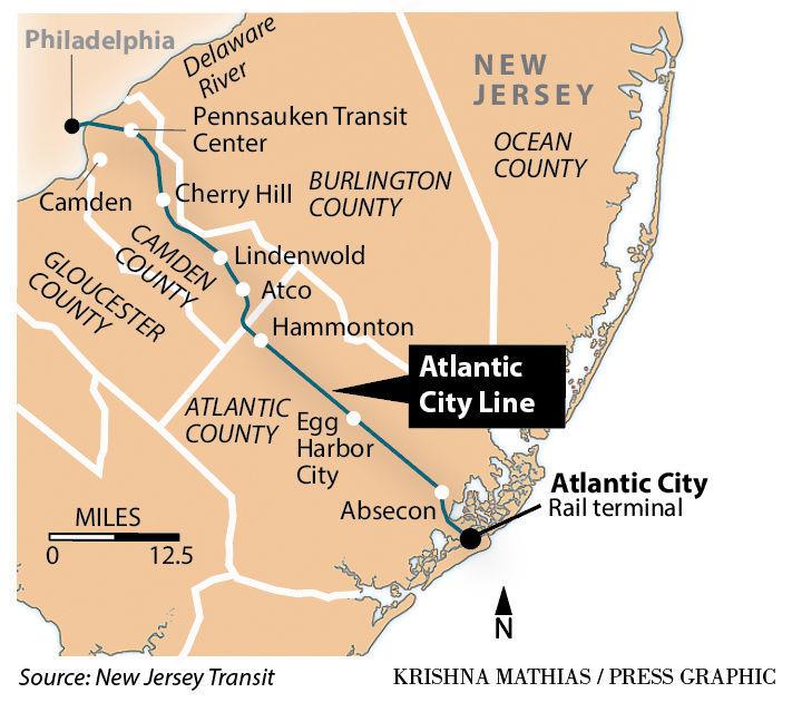 Atlantic City Rail Line to be shut down until 2019 | News