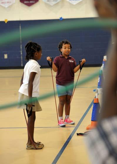 Schools find creative ways to boost exercise after majority of children deemed unfit