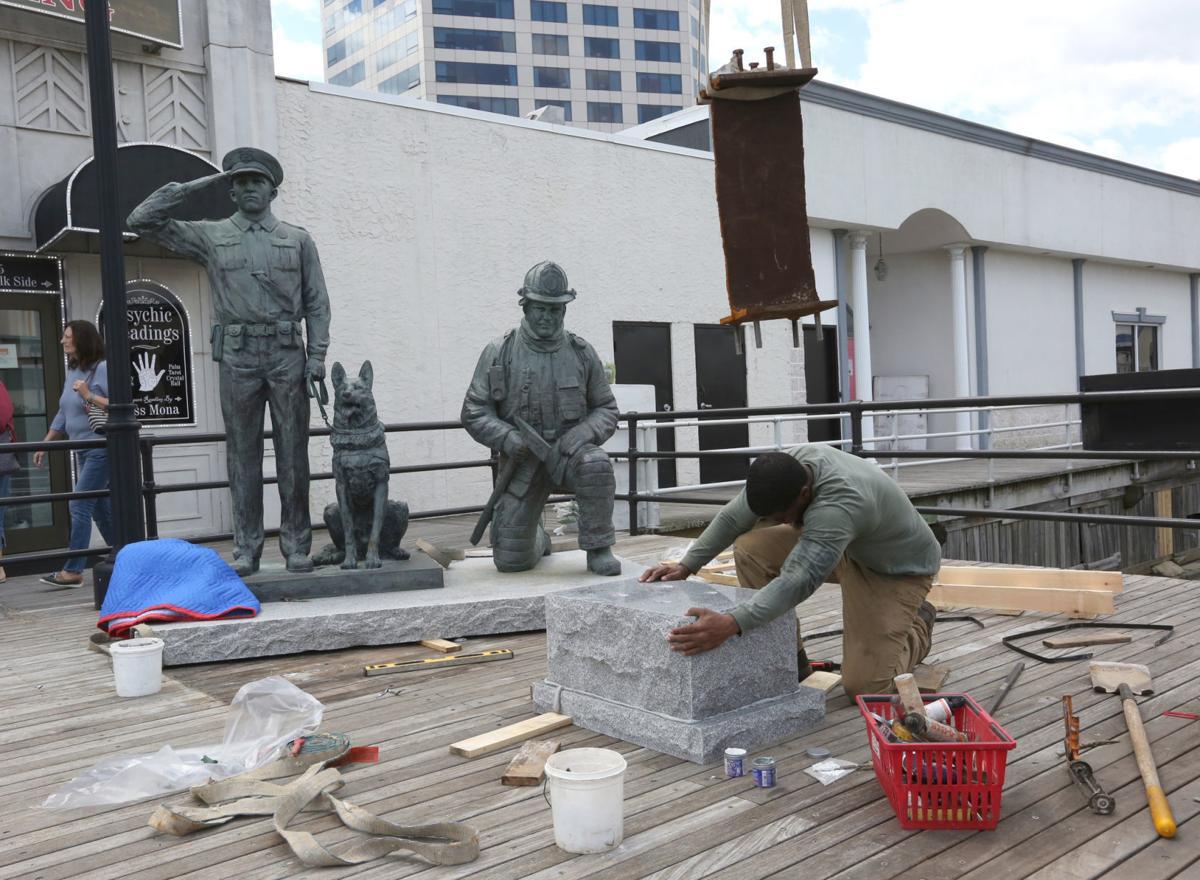 Police and Firemen Memorial