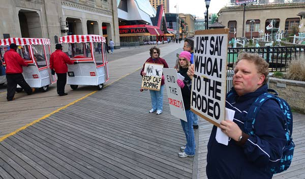 rodeo protest