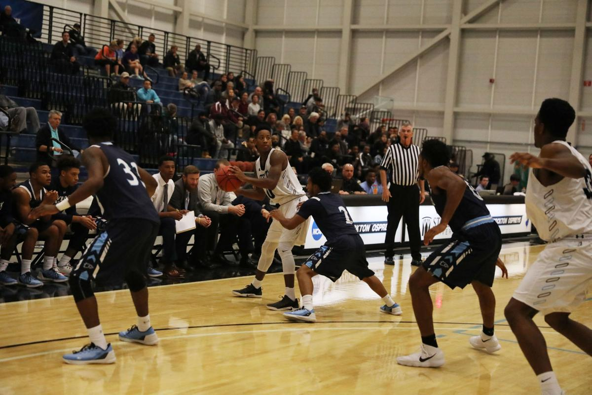 Wesley College at Stockton University mens basketball