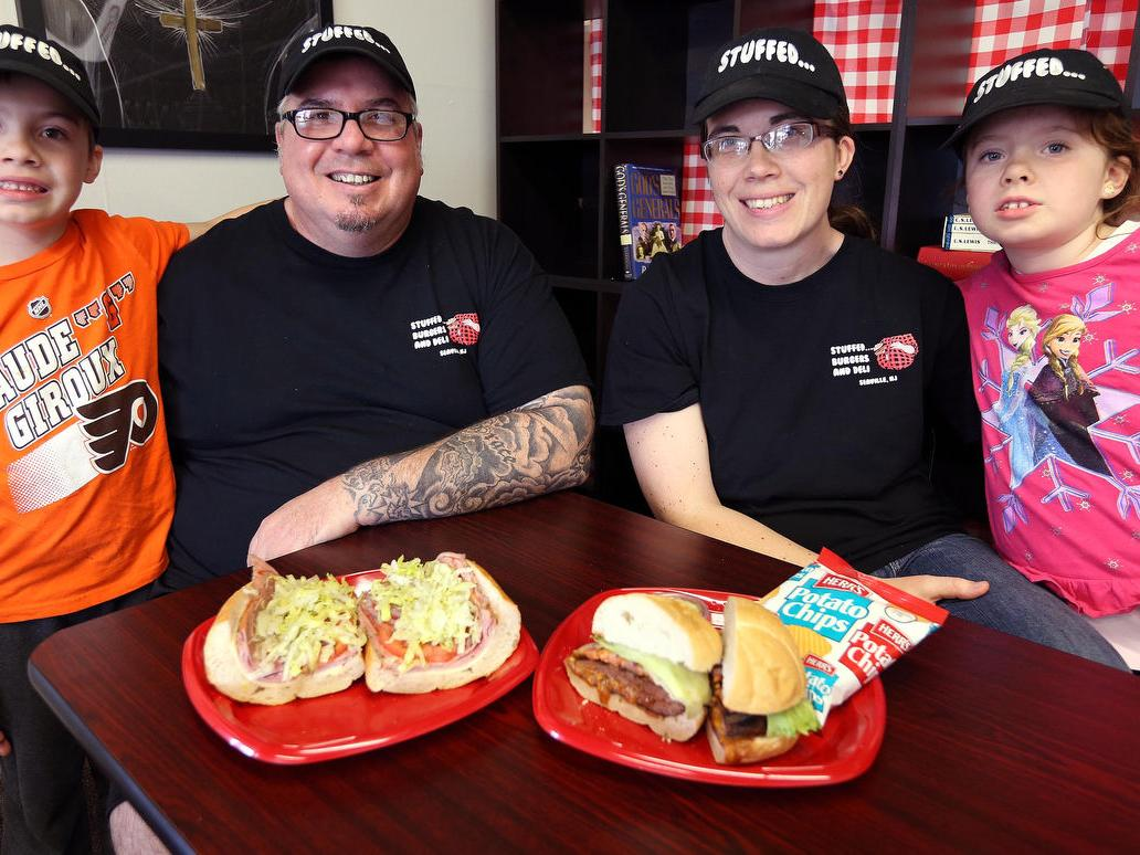 Refreshing atmosphere at Stuffed Burgers and Deli in Cape