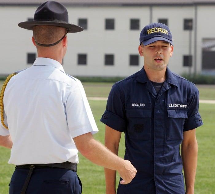 Every Friday is graduation day for Coast Guard Training Center Cape May |  Cape May County | pressofatlanticcity.com