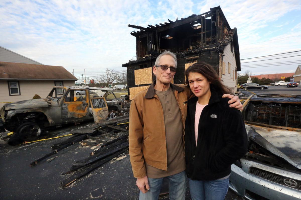 Father daughter fire rescue