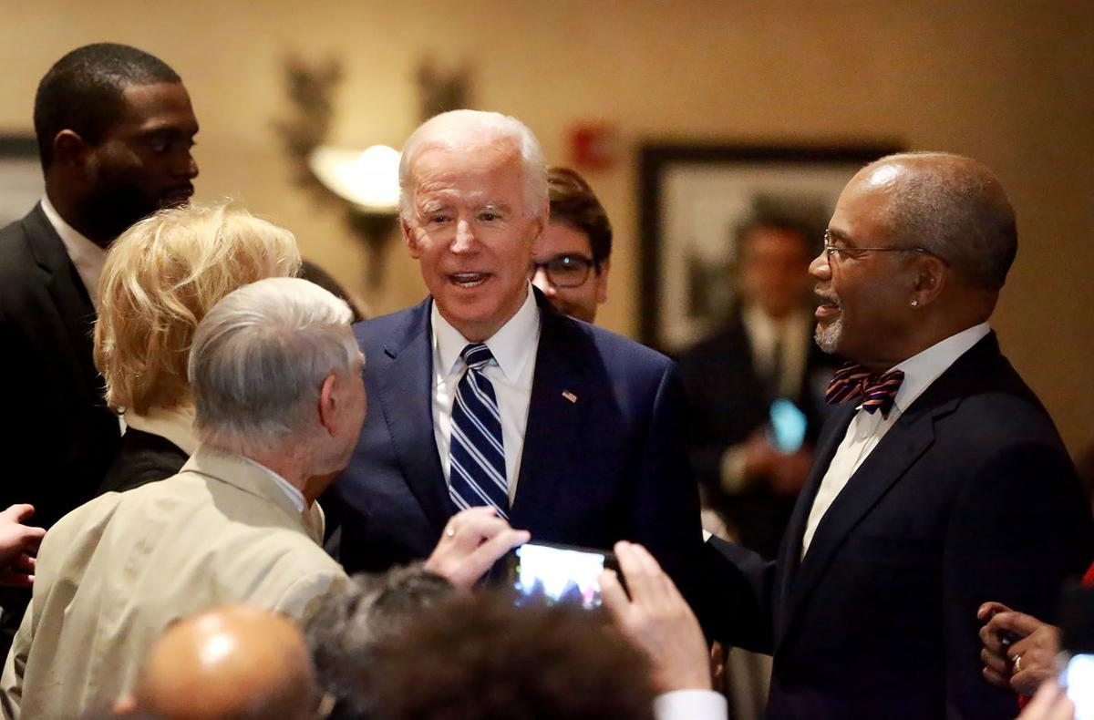 Biden Honors Friend, Former Rep William J Hughes, At -4137