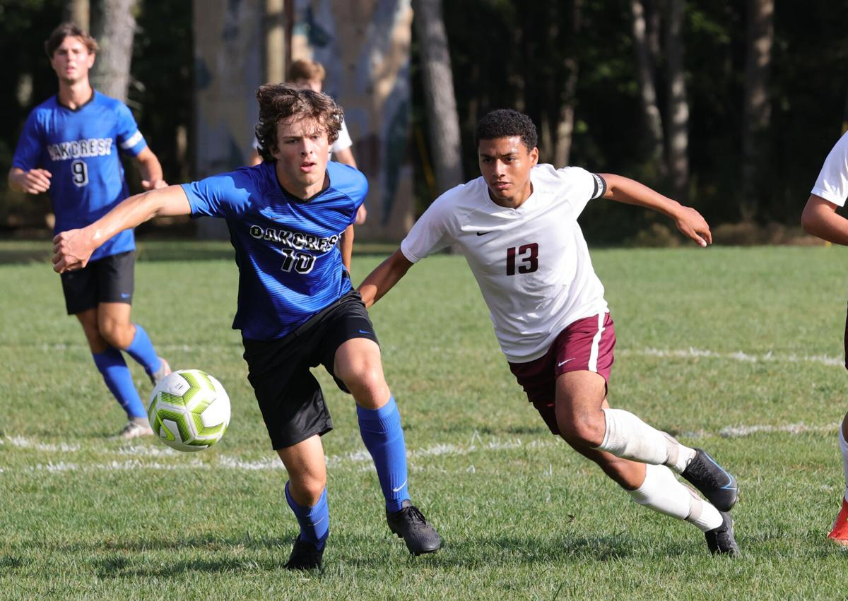 Cedar Creek vs Oakcrest soccer game