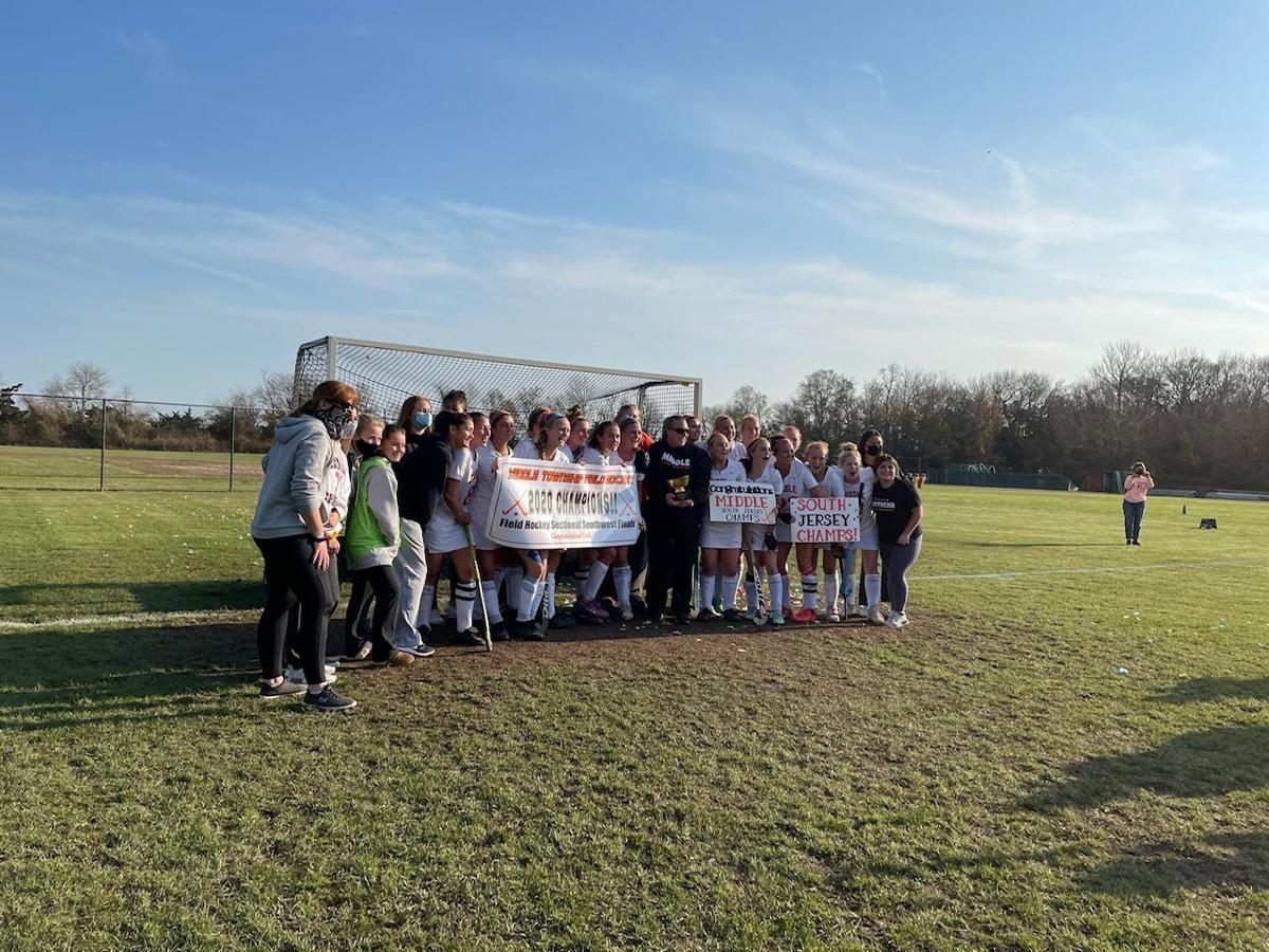 Middle Township field hockey team